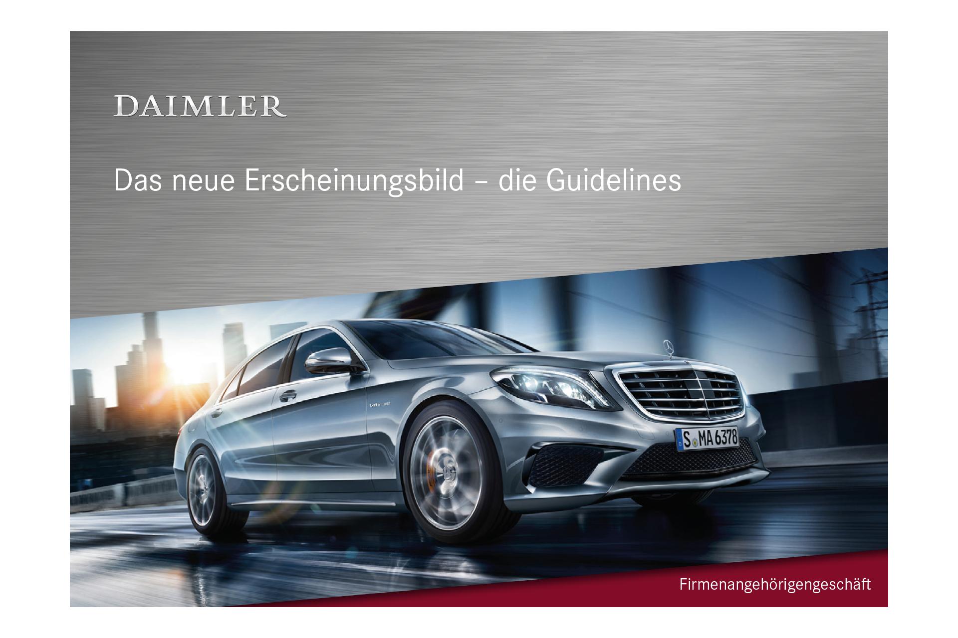 Mercedes Benz Powerpoint Vorlage