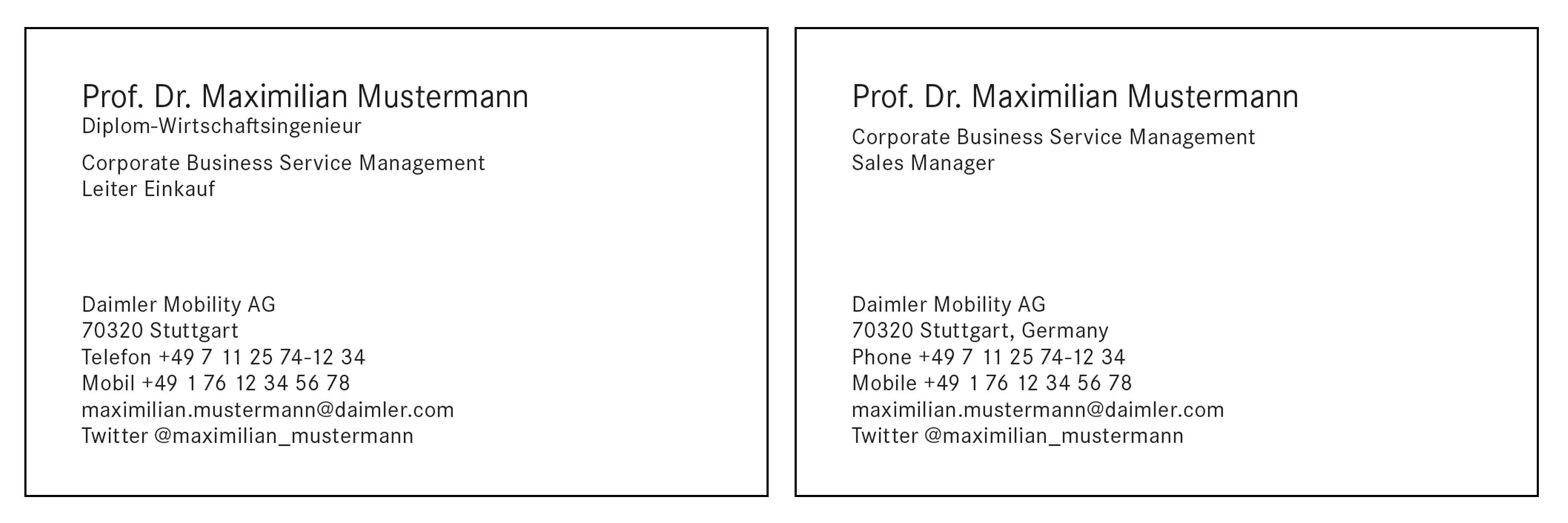 Daimler Brand Design Navigator