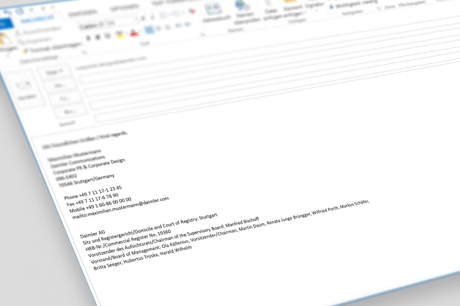 E Mail Signatur Signaturen Erstellen Tipps