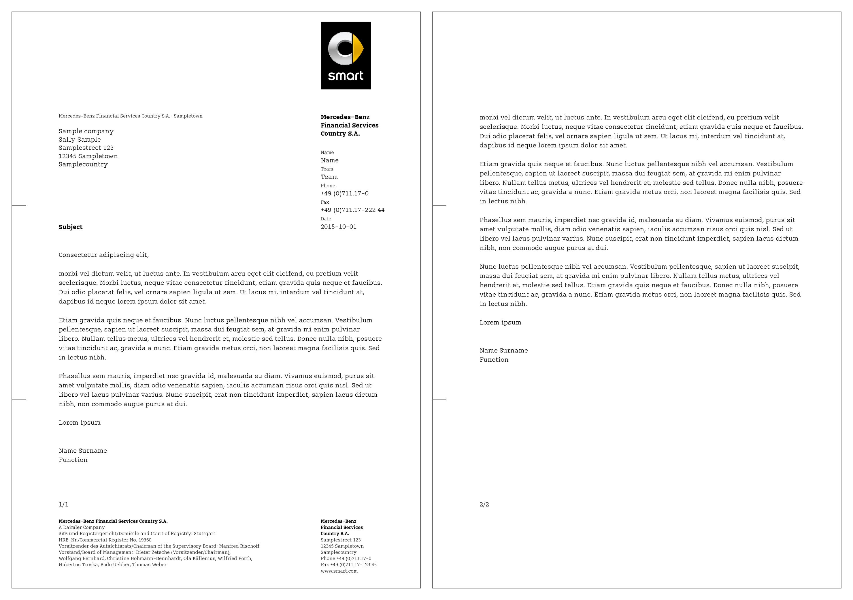 Financial services letterhead templates designs 28 for Uber letterhead